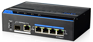 Industrijski 4-Portni Megabitni PoE Switch
