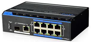 Industrijski 8-Portni Megabitni PoE Switch